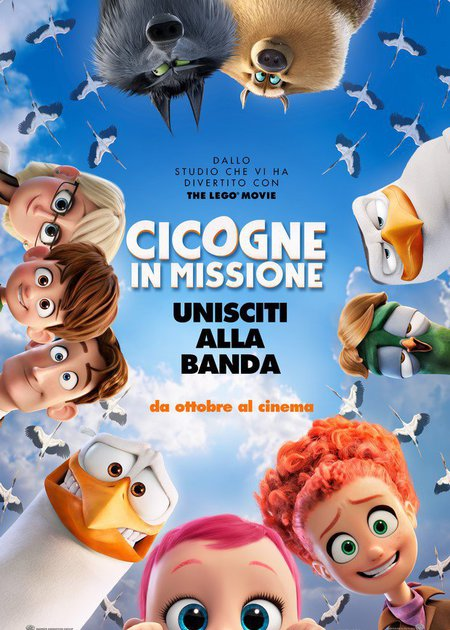 CICOGNE IN  MISSIONE (STORKS)